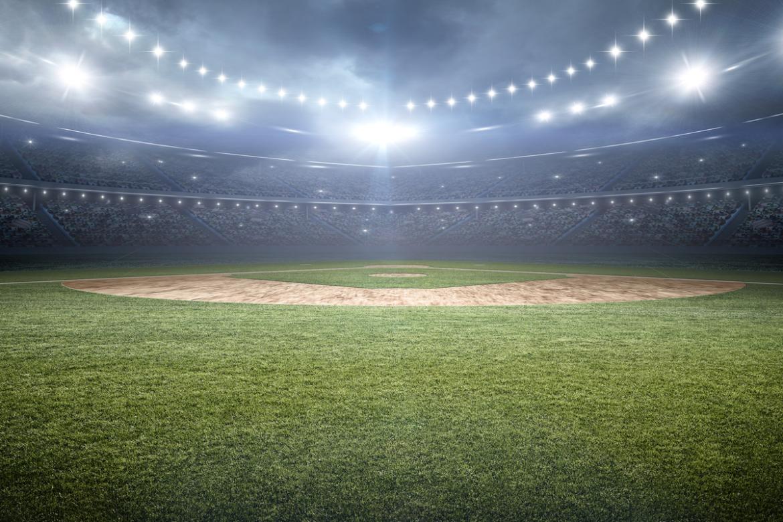 A baseball stadium in Los Angeles