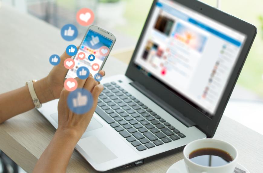 Public relations and social media.