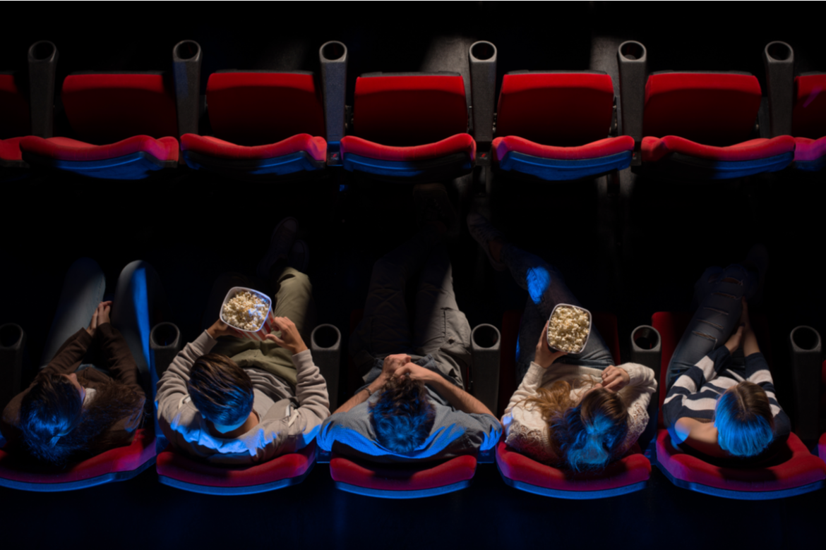 A movie theater in Los Angeles