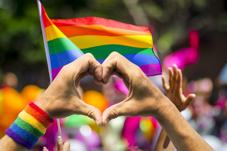 A pride parade.